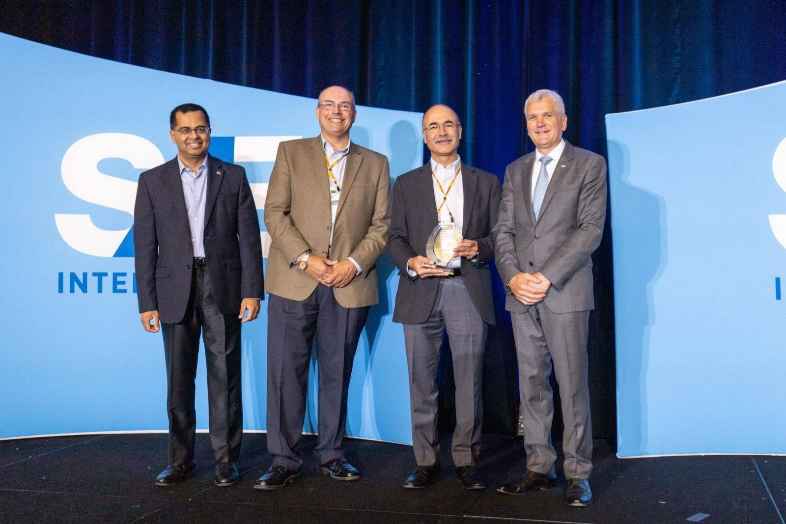 Congratulations to Dr. Ahmadian for being honored with SAE International/Magnus Hendrickson Innovation Award!